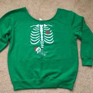Sweaters - Maternity Christmas Sweatshirt